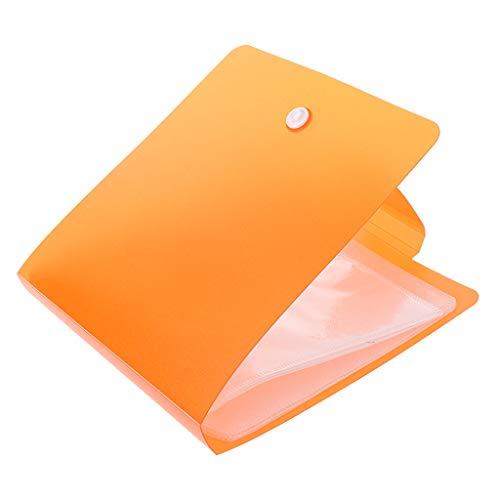 SimpleLife DVD-Hülle mit 12 Hüllen für tragbare Auto-Büro-Reise-CD-DVD-Aufbewahrungstasche