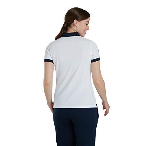 Canterbury of New Zealand Women's British and Irish Lions Home Nations Polo Shirt, Bright White, 14