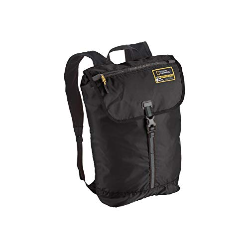 Eagle Creek National Geographic Adventure Packable Backpack, Black, 15L