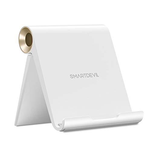 SmartDevil Soporte Tablet, Multiángulo Soporte Ajustable para Tablets para Pad Pro11/10.5'/9.7', Pad Mini 5 4 3 2 Pad Air 3 2 1 Nintendo Switch Galaxy Tab A / S5 / S4 Huawei Lenovo Tablets - Oro