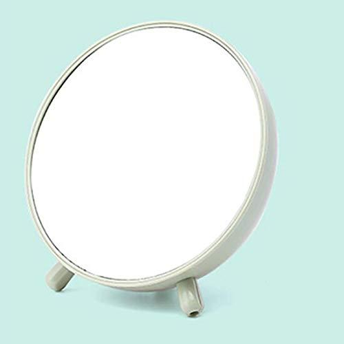 HUIHH Simple Bedroom Desktop Storage Box Mirror with Drawer Makeup Nail Art European Princess Beauty Vanity Mirror Creative Mirror 16.8 * 18.5CM B