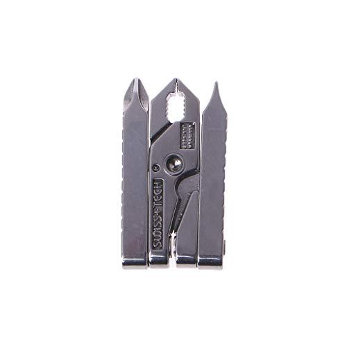 MISHITI 6 en 1 Abrazadera multifunción para Herramientas al Aire Libre Mini - alicates Micro Multiherramienta Llavero Herramienta Plegable portátil Equipo EDC Kits de Equipo de Bolsillo Camping