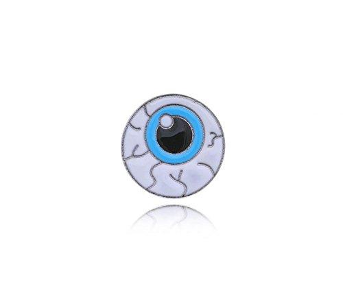 Null Karat Anstecker Pin Auge Eye schmuckrausch