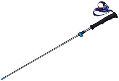 LEIGE Tri-fold Folding Light Quick Lock Spring new work 70% OFF Outlet Hiking Po Poles Trekking