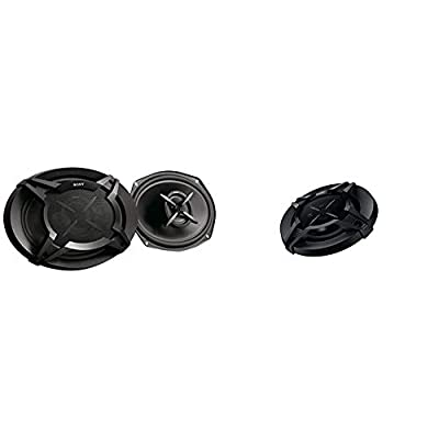 """XS-FB6920E 16x24cm (6x9"""") 2-Way Coaxial Speakers & Sony XS-FB1030 10 cm 4-Inch 3 way Co-Axial Speaker System with 220 W Peak Power from"""