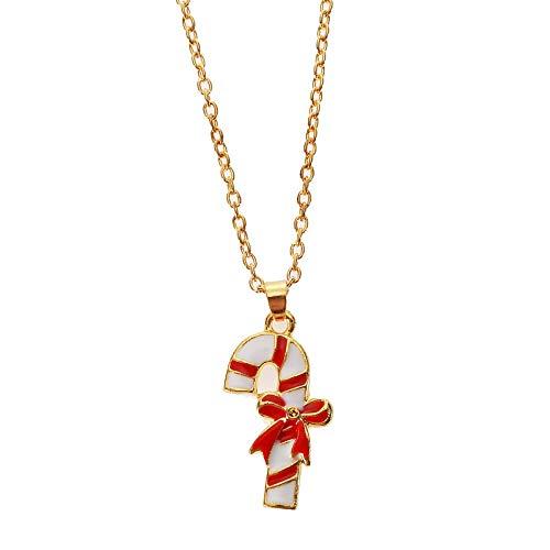 Alushisland Conjunto De Pendientes De Collar De Goteo De Serie De Navidad De Todo Fósforo De Moda De Joyería Creativa