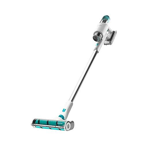 Cecotec Aspirador Escoba sin Cable y sin Bolsa Conga Rockstar 200 Vital, 330 W, 3 en 1: Vertical, Escoba y de Mano, Motor Digital Brushless, 20 KPA, 50 min de autonomía, Cepillo Jalisco