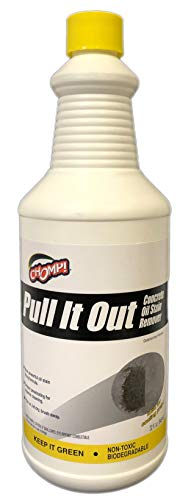 Chomp Pull It Out Oil/Stain Remover for Concrete, Grease, Remover for Garage Floors & Driveways