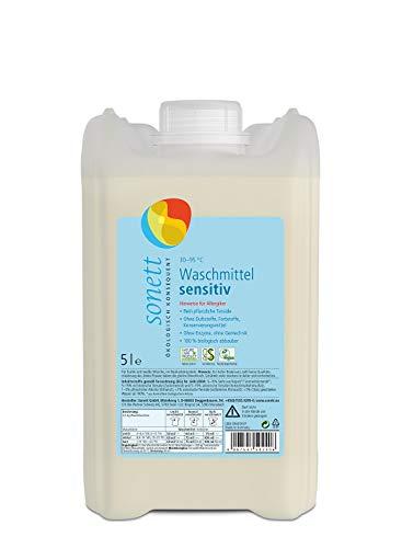 Waschmittel Sensitiv: 100{30729051e4c469bf2bca8162ed41b4b52c60ce961852d793fcca6179c623bcf7} biologisch abbaubar