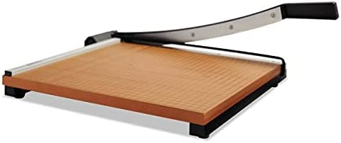 Square Commercial Grade Wood Base Sheets Guillotine Trimmer Inventory cleanup Denver Mall selling sale 15
