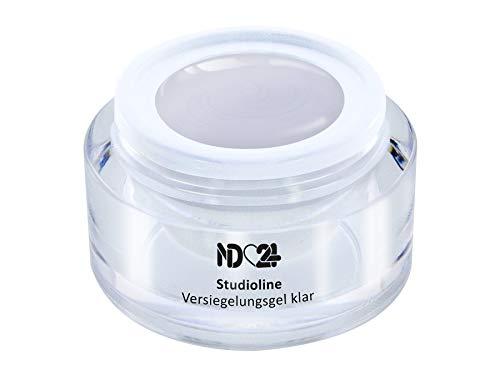 Studioline - Finish Versiegler-Gel Mittelviskos High Gloss - Uv Nagel-Gel - Made In Germany - 30ml