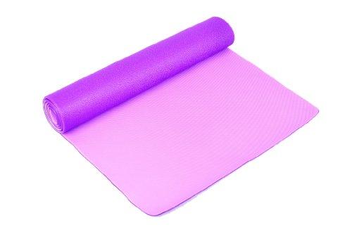 FA Sports Yogiplus Esterilla de Yoga con 2 Lados Reversibles