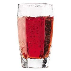 Libbey Chivalry Beverage Glasses, Tumbler-Style, 12Oz, 5-1/4' Tall, 36/Carton