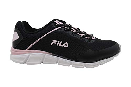 Fila Womens Memory Countdown 5 Low Top Lace Up Running Sneaker, White, Size 7.0