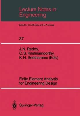 [(Finite Element Analysis for Engineering Design)] [Edited by J. N. Reddy ] published on (June, 1988)