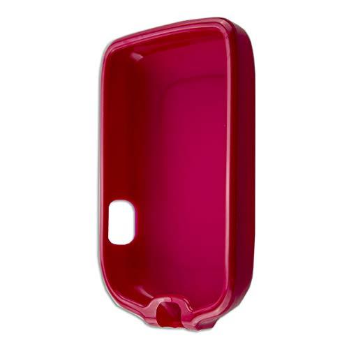 caseroxx TPU-Hülle für Freestyle Libre 1/2 / Insulinx / 14 Day, Tasche (TPU-Hülle in rot)