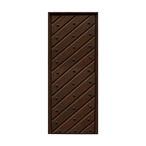 tzxdbh vinilo suelo cocina Listones de madera remaches vetas de madera 100CMx18CMx6pieces(39.3'w x 7'h x 6pieces) Pegatinas de Pared, Vinilo Stickers Adhesivos Escalera pegatinas para escalones