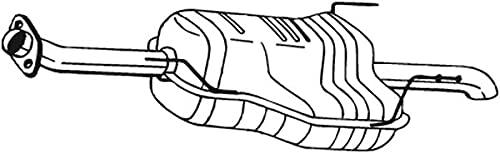 Bosal 185-633 Silencieux arrière