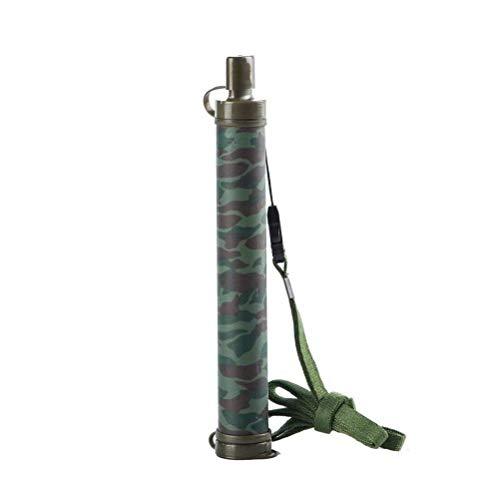 WLD Utilisation à la maison Filtre de qualité de l'eau Purificateur d'eau Purificateur d'eau extérieur Filtre à eau portable pour camping Randonnée Urgence Vie Survie