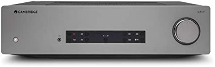 Cambridge Audio CXA81 Stereo Two-Channel Amplifier with Bluetooth and Built-in DAC - 80 Watts Per Channel (Lunar Grey)
