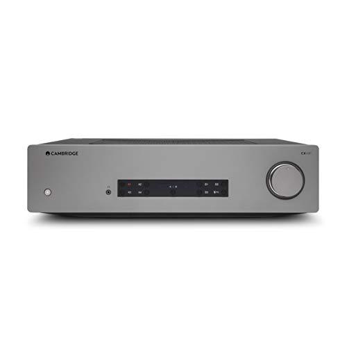 Cambridge Audio CXA81 Amplificador Estéreo Integrado – aptX HD Bluetooth, 80 Vatios por Canal, entradas Digitales y Analógicas, USB