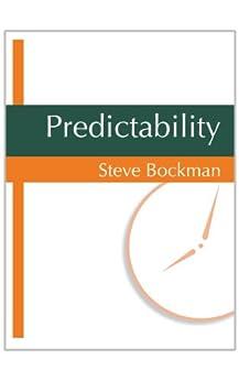 Predictability by [Steve Bockman]