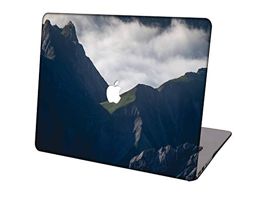Laptop Case for MacBook Pro 16 Case Model A2141,Neo-wows Plastic Ultra Slim Light Hard Shell Cover Compatible MacBook Pro 16 inch with Touch Bar/Touch ID,Sky Series 0830