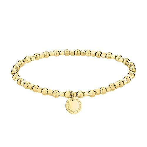 Liebeskind Berlin Armband aus Edelstahl in Gold LJ-0596-B-17