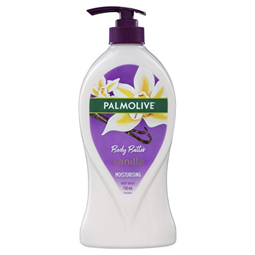 Palmolive Body Butter Heavenly Vanilla Moisturising Body Wash Recyclable, 750mL, (Pack of 1)