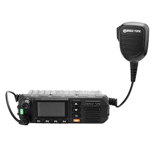 Radio-tone RT5 3G WiFi Network PTT Mobile Car Speaker Two-Way Radios Speaker Mobile Network POC Radio Speaker for Smartphones