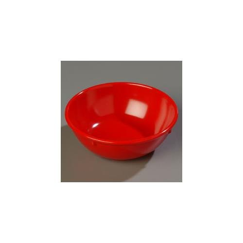 5.5' Round Nappie Bowl w/ 14 oz Capacity, Melamine, Red