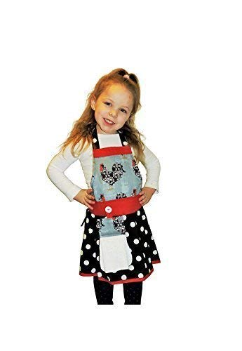 Quantity limited Apron Animer and price revision by The Bedford Life: Kids Girls L Damask S M Ch 2-13 Age