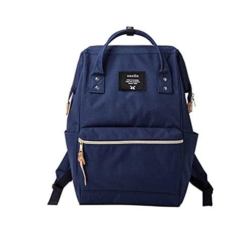 N\C Mochila de tela Oxford para parejas, de viaje, mochila escolar