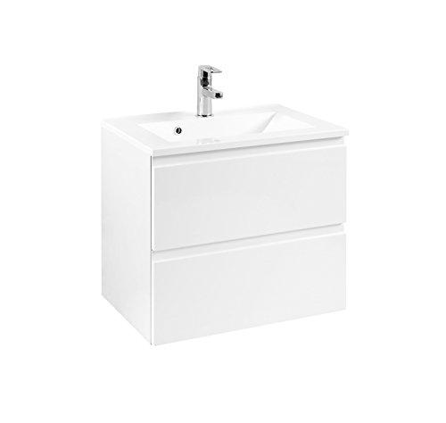 Held Möbel Cardiff Waschtisch 60, Holzwerkstoff, Weiß, 47 x 60 x 56 cm