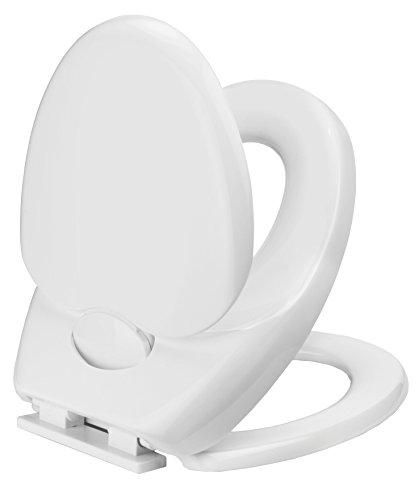 Cornat KSFAMC00 WC-Sitz Family Comfort mit 3-fach Absenkautomatik, weiß