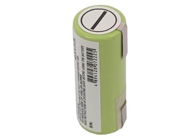 Battery Braun 1008, 1012, 1013, 1013s, 1507s, 1508, 1509, 1512, 2035, 20, Ni-MH, 2500mAh / 1.2V mAh by Cameron Sino