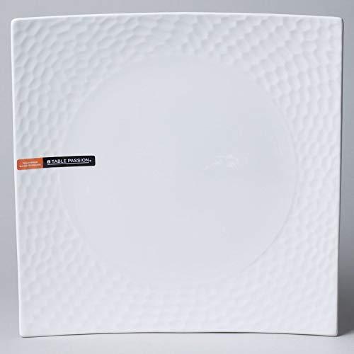 Table Passion - Assiette plate Dune 25 cm (Lot de 6)