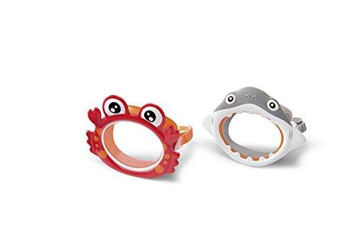 Intex Fun Schwimmbrille Taucherbrille für Kinder 3 bis 8 J. Krebs