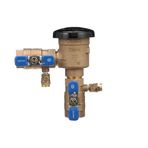 Zurn Wilkins 1' 720A Pressure Vacuum Breaker Assembly, Bronze