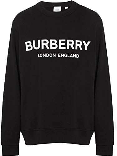 BURBERRY Luxury Fashion Herren 8011357 Schwarz Sweatshirt |
