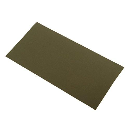 Unbekannt Kit de réparation imperméable pour doudoune, sac de couchage, tente matelas gonflable, 20 x 10 cm AOD (vert foncé)