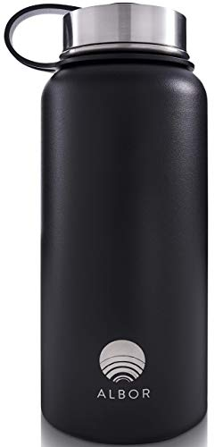 ALBOR Insulated Water Bottle with Straw