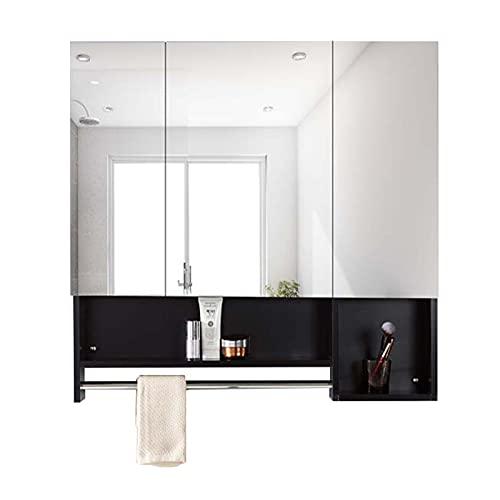 FLAMY Armario con Espejos de Doble/Tres Puertas,Medicamentos Armario de Baño,Viewfinder Muebles de...