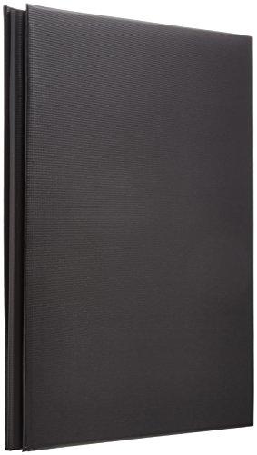 ナカバヤシ デジタルフリーアルバム A4 ブラック アH-A4F-142-D 1冊
