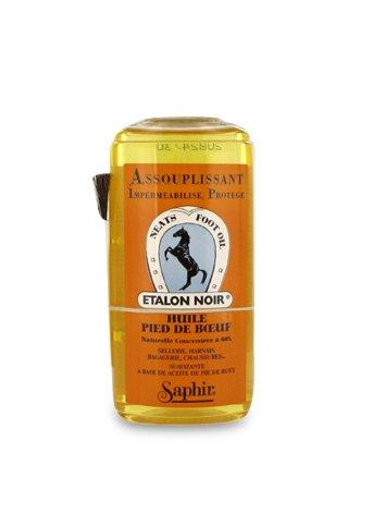Saphir Lederöl für Ledersohlen und Glattleder Ledersohlenöl 200 ml (ohne Pinsel)
