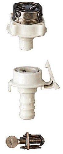 SANEI ボールジョイントセット 散水ホース用 元口・バンド付き 内径15mmホース用 PT17-3S