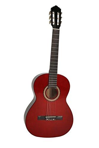 Navarra NV10 - Guitarra clásica 4/4, color caoba: Amazon.es ...