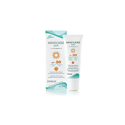 SYNCHROLINE AKNICARE SUN FACE UVB 30 - UVA 20 50ml For acne