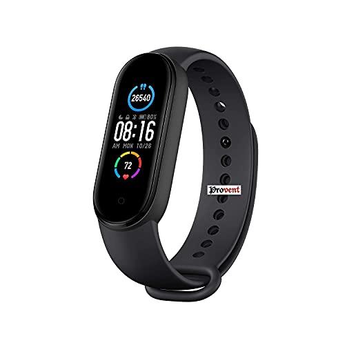 PROVENT 5 Band Bluetooth Health Wrist Smart Band Monitor|SmartHealth for Men & Women Activity Fitness Tracker| Unisex Top Brand Wrist Band