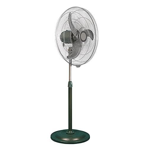 ADASP ventilador de pie, Ventilador de Piso con Pedestal, enfriamiento oscilante, con 3 Modos de Ventilador, 3 aspas, Adecuado para el hogar, Comercial, residencial, Negro